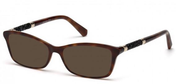 Swarovski SK5257 sunglasses in Dark Havana