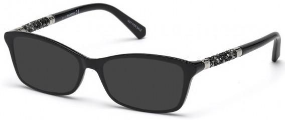 Swarovski SK5257 sunglasses in Shiny Black