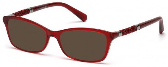 Swarovski SK5257 sunglasses in Shiny Red
