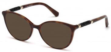 Swarovski SK5258 sunglasses in Dark Havana