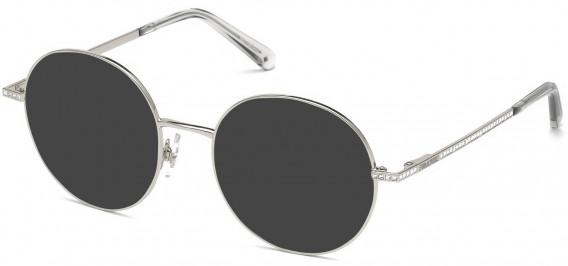 Swarovski SK5259 sunglasses in Shiny Palladium