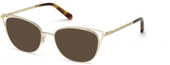 Swarovski SK5260-52 sunglasses in Gold