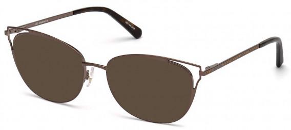 Swarovski SK5260-52 sunglasses in Matte Dark Brown