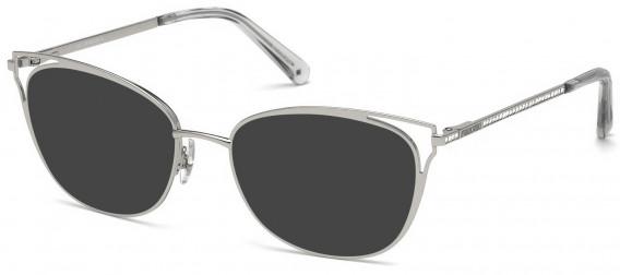 Swarovski SK5260-52 sunglasses in Shiny Palladium