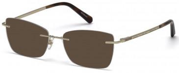 Swarovski SK5261 sunglasses in Gold