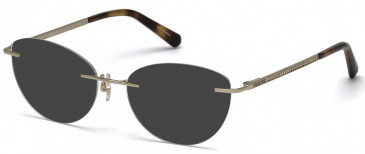 Swarovski SK5263 sunglasses in Gold