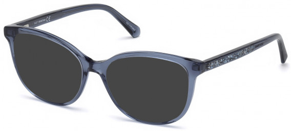 Swarovski SK5264-52-52 sunglasses in Shiny Blue
