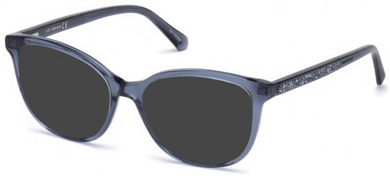 Swarovski SK5264-54 sunglasses in Shiny Blue