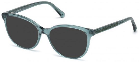 Swarovski SK5264-54 sunglasses in Shiny Dark Green
