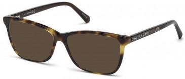 Swarovski SK5265-52 sunglasses in Dark Havana