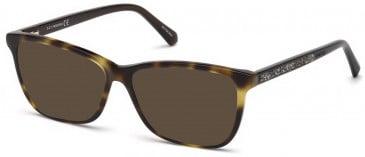 Swarovski SK5265-54 sunglasses in Dark Havana