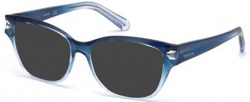 Swarovski SK5267 sunglasses in Blue/Other