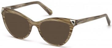 Swarovski SK5268-53 sunglasses in Light Brown/Other
