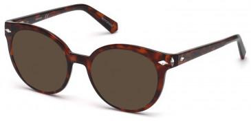 Swarovski SK5272 sunglasses in Dark Havana