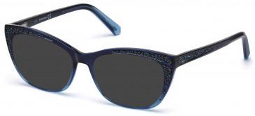 Swarovski SK5273 sunglasses in Blue/Other
