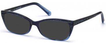 Swarovski SK5274 sunglasses in Blue/Other