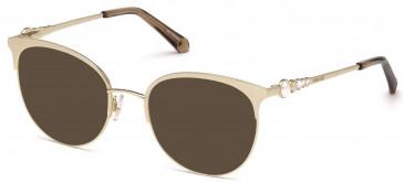 Swarovski SK5275-51 sunglasses in Gold