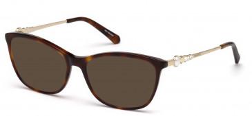 Swarovski SK5276 sunglasses in Dark Havana