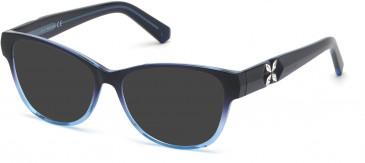 Swarovski SK5281-53 sunglasses in Blue/Other