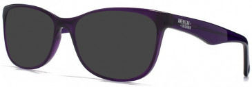 American Freshman AMFO005 Glasses in Crystal Purple