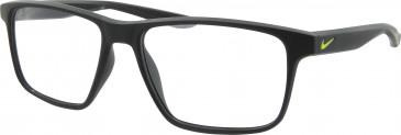 Nike NK5002 glasses in Matt Black