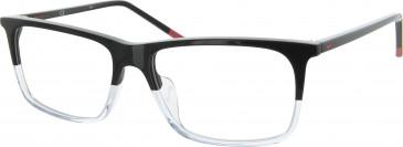 Nike NK7253 glasses in Black/Clear