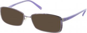 Diane von Furstenberg DVF8012 sunglasses in Shiny Purple