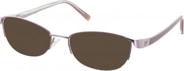 Diane von Furstenberg DVF8030 sunglasses in Rose