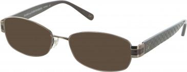 Diane von Furstenberg DVF8040 sunglasses in Brown
