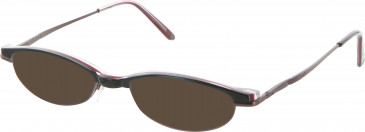 Jigsaw JIG194 sunglasses in Black/Red