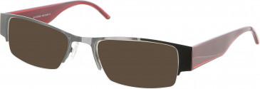 GF Ferre FF189 sunglasses in Gunmetal