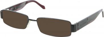 GF Ferre FF218 sunglasses in Black