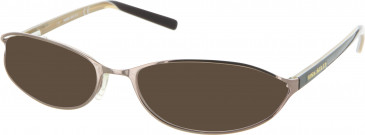 Miss Sixty MX165 sunglasses in Bronze