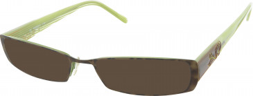 Morgan De Toi Morgan-203102 sunglasses in Brown/Green