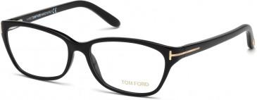 TOM FORD FT5142 glasses in Shiny Black