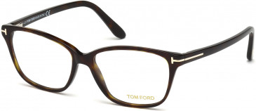 TOM FORD FT5293 glasses in Dark Havana