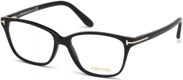TOM FORD FT5293 glasses in Shiny Black