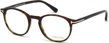TOM FORD FT5294-48 glasses in Dark Havana