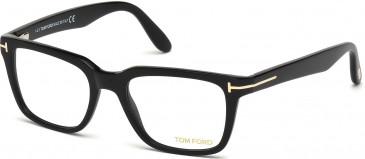 TOM FORD FT5304 glasses in Shiny Black
