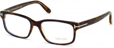 TOM FORD FT5313 glasses in Coloured Havana