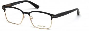 TOM FORD FT5323 glasses in Matte Black