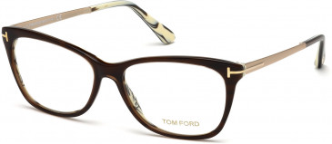 TOM FORD FT5353-52 glasses in Dark Brown/Other