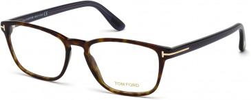 TOM FORD FT5355-52 glasses in Dark Havana