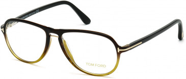 TOM FORD FT5380-55 glasses in Black/Other