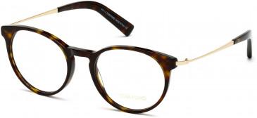 TOM FORD FT5383-49 glasses in Dark Havana