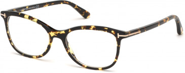 TOM FORD FT5388-52 glasses in Havana/Other / Smoke