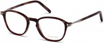 TOM FORD FT5397 glasses in Coloured Horn