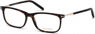 TOM FORD FT5398-53 glasses in Dark Havana