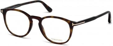 TOM FORD FT5401-49 glasses in Dark Havana