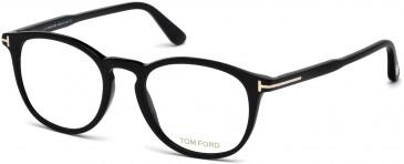 TOM FORD FT5401-51 glasses in Shiny Black